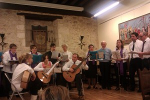 coro de la escuela de música